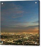 Los Angeles City Of Angels Acrylic Print