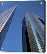 Los Angeles Skyscrapers Acrylic Print