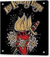 Los Lonely Boys Acrylic Print