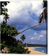 Los Tubos Beach Acrylic Print