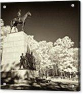 Louisiana Monument At Gettysburg Acrylic Print