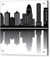 Lousivile Skyline Acrylic Print