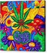 Love And Peace Acrylic Print