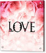 Love Heart Nd12 Acrylic Print