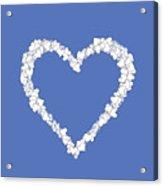 Love Heart Valentine Shape Acrylic Print