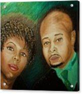 Lovers And Friends Acrylic Print