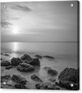 Low Tide Sunset  Acrylic Print