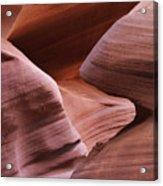 Lower Antelope Canyon 2 7978 Acrylic Print