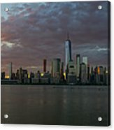 Lower Manhattan Acrylic Print