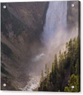 Lower Yellowstone Falls Acrylic Print