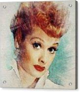 Lucille Ball, Vintage Actress Acrylic Print