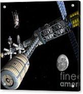 Lunar Cycler Centrifuge Acrylic Print