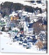 Mackinac Island Winter Acrylic Print