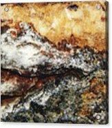 Macro Rock Acrylic Print