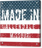 Made In Allendale, Missouri Acrylic Print