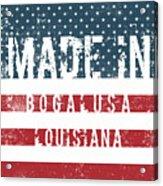 Made In Bogalusa, Louisiana Acrylic Print
