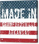 Made In Crawfordsville, Arkansas Acrylic Print