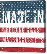 Made In Feeding Hills, Massachusetts Acrylic Print