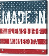 Made In Flensburg, Minnesota Acrylic Print