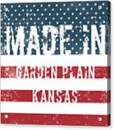 Made In Garden Plain, Kansas Acrylic Print