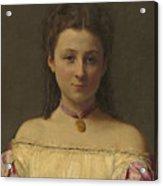 Mademoiselle De Fitz-james Acrylic Print