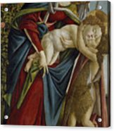 Madonna And Child And The Young St John The Baptist Acrylic Print