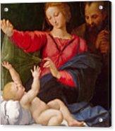 Madonna Of Loreto Acrylic Print