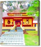 Mahayana Buddhist Temple 1 Acrylic Print