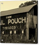 Mail Pouch Tobacco Barn Acrylic Print
