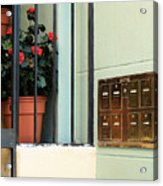 Mailboxes Acrylic Print