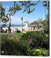 Main Beach Laguna Acrylic Print