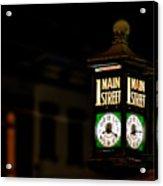 1 Main Street Acrylic Print