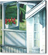 Maine Porches Number One Acrylic Print