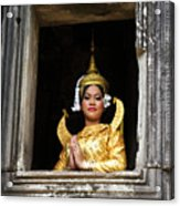 Makala Dancer In Cambodia Acrylic Print
