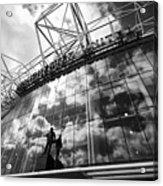 Manchester United Old Trafford Stadium Uk Acrylic Print