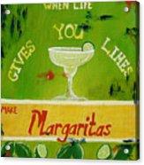 Margaritas Acrylic Print