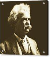 Mark Twain Acrylic Print