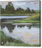 Marsh, June Afternoon Acrylic Print