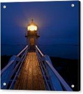 Marshall Point Light Station Acrylic Print