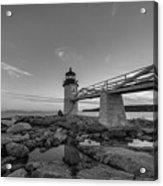 Marshall Point Lighthouse Reflections Acrylic Print