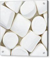 Marshmallows Acrylic Print