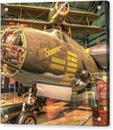 Martin B-26g, Marauder, Shootin In Acrylic Print