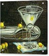 Martini Military Acrylic Print
