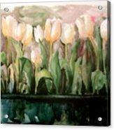 Marty's Tulips Acrylic Print