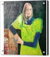Mary Acrylic Print