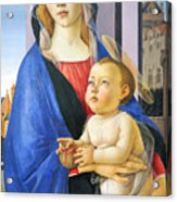 Mary With Baby Jesus Acrylic Print