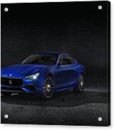 Maserati Ghibli Acrylic Print