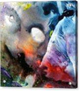 Masked Acceptance Acrylic Print