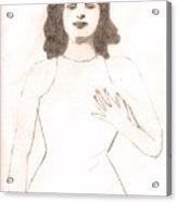 Mata Hari Mystique Acrylic Print
