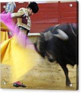 Matador Jose Tomas Iv Acrylic Print